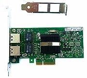 コントローラ:Intelイーサネット82571EBに対応。通信速度:1Gbit。 PCI-E x4、x8、x16ソケットに適合。ISCSI、WOL、PXE、VLAN、ROS、VM、ESXIなどをサポートします。 支持操作システム:Windows XP、Windows 7、 Windows 8、Windows 10、Windows Server 2008/2012、Linux、ROSなど。 コネクタ:2x RJ-45。マザーボードスロットの占有率を下げ、コンピュータのホストスペースを節約して、安定...