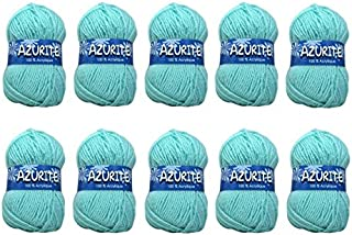 AZURITE Distrifil - Sachet de 10 pelotes 3033 Vert Nil
