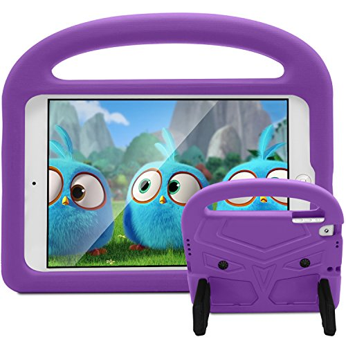 Roasan iPad Pro 9.7 2018/2017 & iPad Air 2 / Air Case Kids Friendly Convertible Handle Lightweight Smart Stand Cover Protector iPad Pro 9.7' (5th / 6th Gen Release Tablet,Purple)