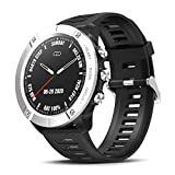 CatShin Reloj Inteligente Hombre, Smartwatch Mujer,Monitores Actividad Impermeable IP68 Deportivos Fitness Pantalla Táctil Pulsómetros Sueño Contador Calorías Podómetro Arterial para Android iOS