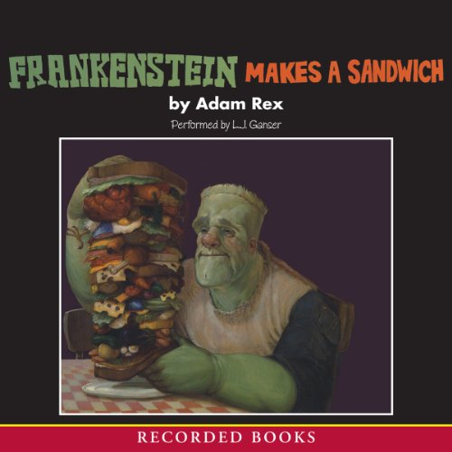 Frankenstein Makes a Sandwich  audiobook cover art