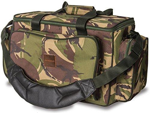 Saber New DPM Camo Multi Pocket Carryall Holdall Carp Fishing Tackle Bag