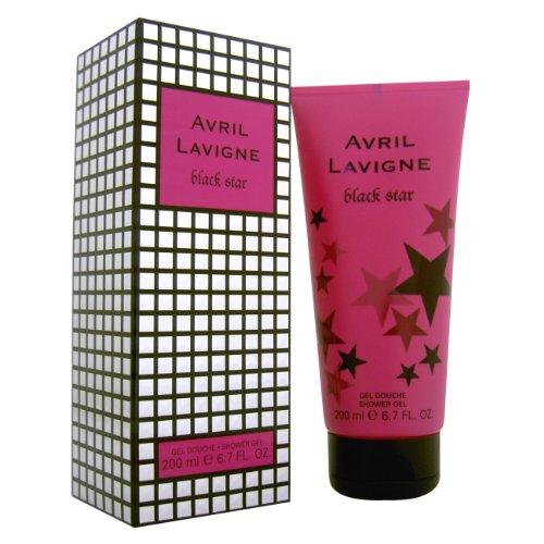 Avril Lavigne Black Star Women Shower Gel Boxed 200ml, 1er Pack (1 x 200 ml)