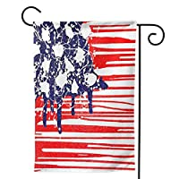 アメリカの国旗 のぼり旗 ガーデンフラッグ 両面 防風 サイン 休日を祝う 美しい 庭の装飾 アンティークの冬 ガーデンバナー ファッション 屋外装飾 贈り物