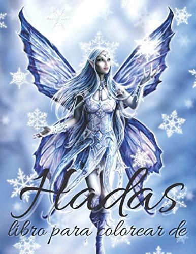 libro para colorear de Hadas: hermoso libro para colorear...