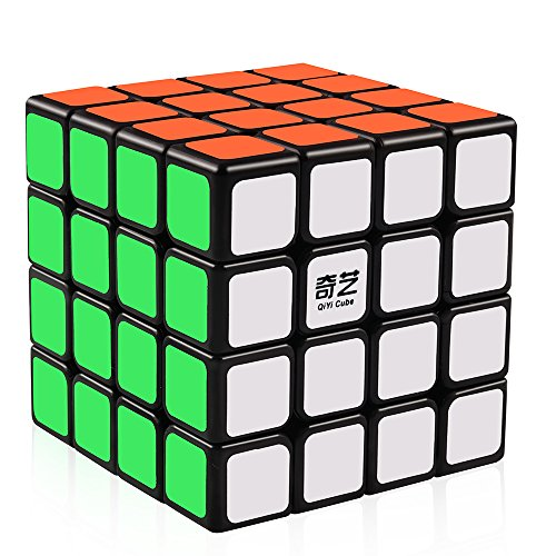 D-FantiX Qiyi Qiyuan 4x4 Speed Cube Magic Cube 4x4x4 Puzzle Toys for Kids
