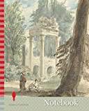 Notebook: The Ruins from Leptis Magna as they Appeared in the Royal Park at Virginia Water, Sir George Hayter, 1792-1871, British, 1835, Watercolor ... thick, slightly textured, cream wove paper