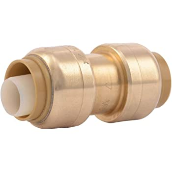 Sharkbite UXL123522 Pack of 18 pcs 1-1//4 x 3//4 Brass Push Fitting Reducer