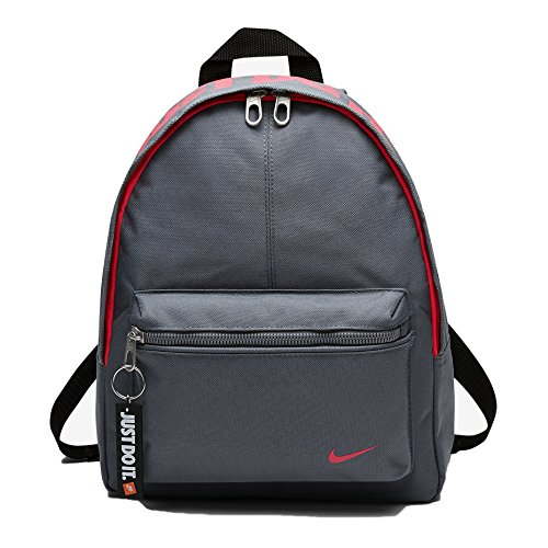 Nike Nk Classic Base Bkpk, Zaino Bambino, Cool Grey/Black/Racer Pink, 7.5/24.5 x 30 x 8.5 cm, S