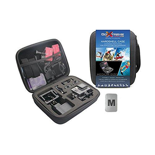 easypix GoXtreme Hadshell Gepäcktasche für Ziel Big Farbe Schwarz