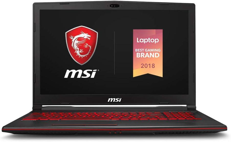"MSI GL63 8RCS-060 15.6"" Gaming Laptop, Intel Core i5-8300H, NVIDIA GTX1050, 8GB, 256GB Nvme SSD, Win10"