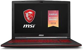 "MSI GL63 8SC-059 15.6"" Gaming Laptop, Intel Core i7-8750H, NVIDIA GeForce GTX1650, 8GB, 256GB Nvme SSD, Win10"
