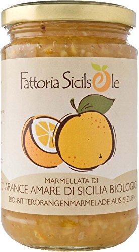 Fattoria Sicilsole Bio Bitterorangen Marmelade (6 x 370 gr)