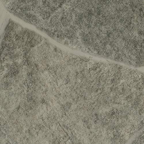 PVC Vinyl-Bodenbelag in Bruchstein Grau Optik | CV PVC-Belag verfügbar in der Breite 400 cm & Länge 250 cm | CV-Boden wird in benötigter Größe als Meterware geliefert