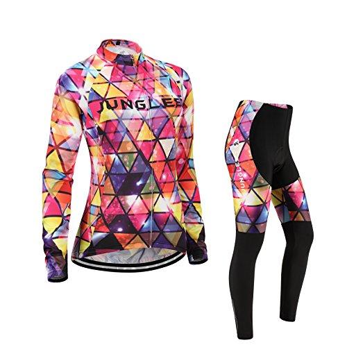 (Cojín 3D)(traje tamaño:L) maillot mujer rendimiento chaleco sudo manga los de transpirable...