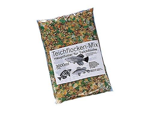 Nobby Étang Flocon Nourriture Mix pour Poisson 3000 ml