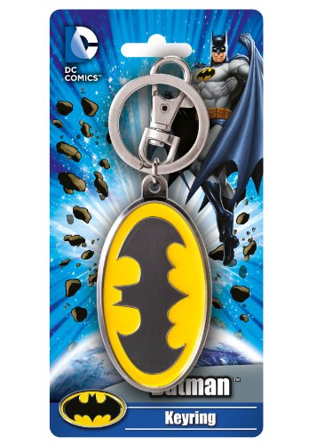 Metal Batman Logo Llavero - Batman Llavero