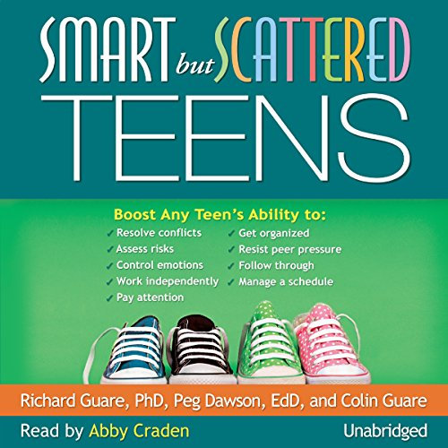 Smart but Scattered Teens audiobook cover art