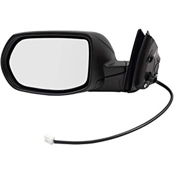 2017-2019 Honda Crv Passenger Side Door Mirror; Power; Heated; With Blind Spot Monitor; With Signal; Includes Paint To Match Cover Partslink HO1321318