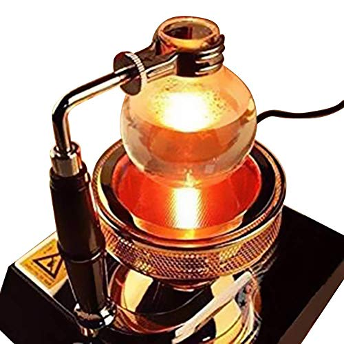 Electric Syphon Coffee Brewer Halogen Beam Heater Syphon Burner for Syphon Coffee,110V US Plug