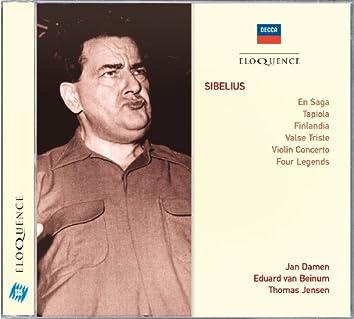Sibelius: En Saga; Tapiola; Finlandia; Valse Triste; Violin Concerto