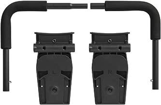 Baby Jogger Britax/BOB CSA Click Connect Car Seat Adapter, BJ Black