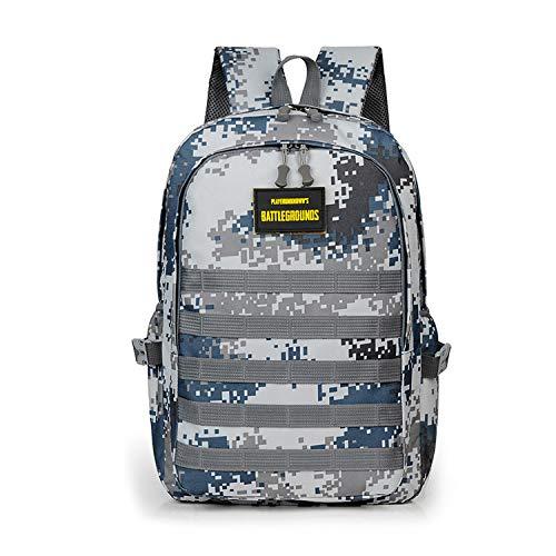 51YLYJwURSL - FANDARE Militar Mochila Bolsa de Escuela Unisexo Mochilas Tipo Casual Bolsos de Mujer Hombre Bolsa de Viaje Niña Niño School Bag Adolescente Knapsack Daypack Impermeable Poliéster Azul