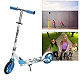 Hengda Foldable Kids Scooter two 200mm Big Wheels City Kick Scooter Height Adjustable