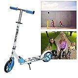 wolketon Kinderroller klappbar Höhenverstellbar Big Wheels Mädchen und Junge Freizeit City Roller klappbar
