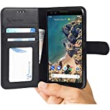 Google Pixel 3 Case by Abacus24-7®, Leather Wallet with