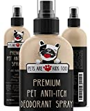 Pets Are Kids Too Profumo Deodorante per Animali Spray Anti-prurito - Ingredienti Naturali ipoallergenico (1 Bottiglia)