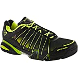 Dunlop Ultimate Tour Indoor Men's Racquetball/Squash Court Shoe (Black/Green) (Non-Marking) 7.0 D(M) US