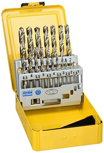 DEWALT DT5923-QZ - Juego de 19 brocas para metal HSS-G DIN 338 en cassette metálica...