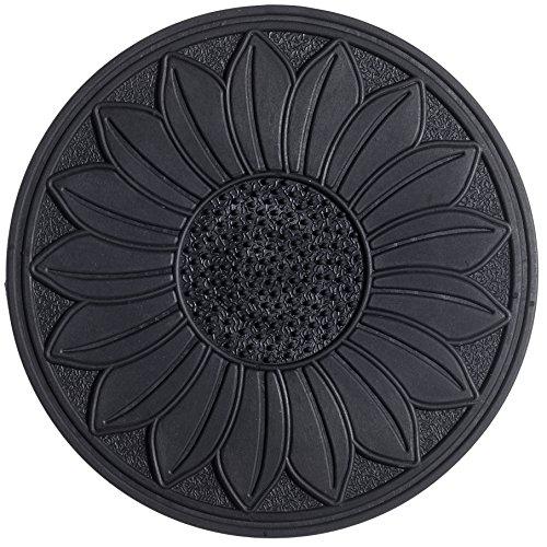 HF by LT Rubber Sunflower Garden Stepping Stone