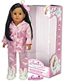 Sophia's 18 inch Doll, Collectible Doll Julia   18 Inch Dark Brown Doll, Jointed Arms/Legs & Soft Body, Brand 18 in Doll
