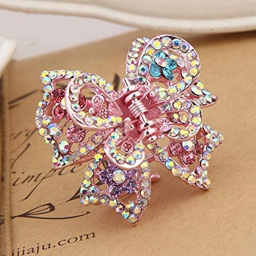 Épingle À Cheveux En Épingle À Cheveux En Forme De Diamant Avec Pince À Ressort En Alliage Convenant Aux Filles (Paquet De 5) 8 Cm, Style 1