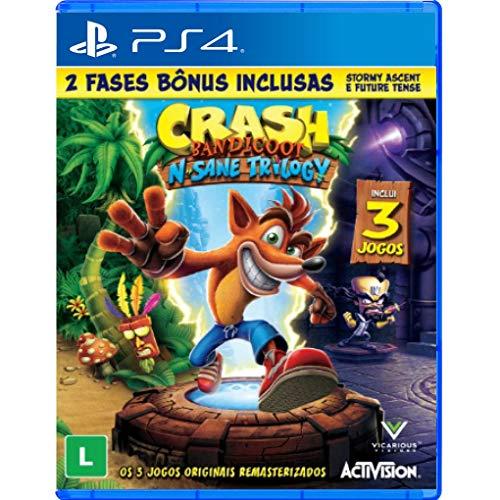 Crash Bandicoot N. Sane Triology - PlayStation 4