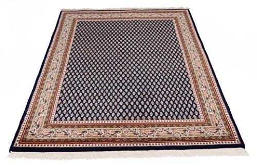 Parwis Teppich, Blau, 60x90 cm