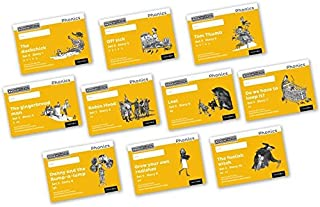 Read Write Inc. Phonics: Black and White Yellow Set 5 Storybooks Mixed Pack of 10