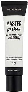 Maybelline New York Master Prime Foundation Primer - 30 ml, Transparent 10