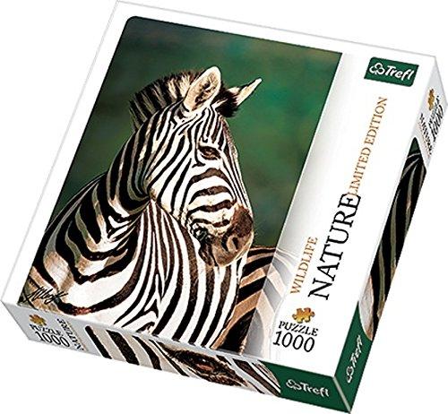 Trefl Nature Limited Edition Wild Life Zebra Puzzle (1000 Pieces)