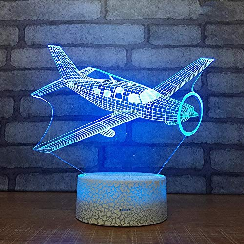 Interesting Multi-Color Vintage Airplane-Shaped LED Atmosphere Lights to Witness The New era of Technology Living Room Decoration Gifts
