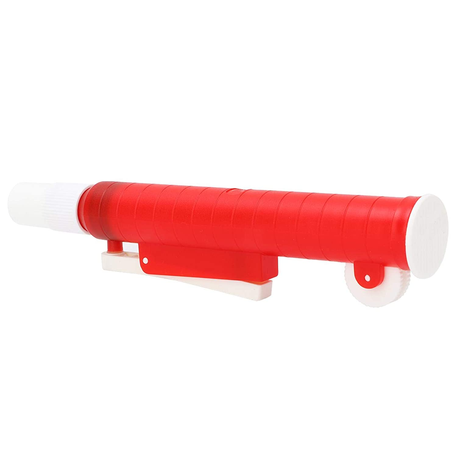 Disposable Max 58% OFF Plastic At the price 25ml Red Thumb Filler Pipette Wheel P