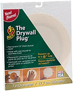 Duck Brand The Drywall Plug, White, 7 Inches (285091)