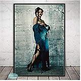 Art Poster Rihanna Pop Star Music Singer Posters and Prints Wall Art Decoration Canvas Painting Kids Room Home Art Decor 60x90cm unframed