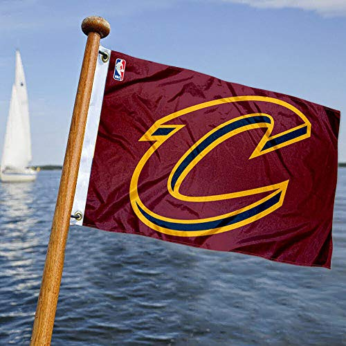 WinCraft Cleveland Cavaliers Boat and Golf Cart Flag