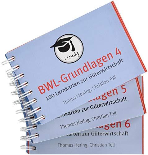 BWL-Grundlagen 4-6. 300 Lernkarten zur Güterwirtschaft