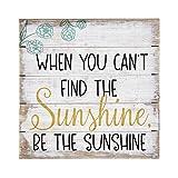 Sincere Surroundings PET12848 Be The Sunshine-8 x 8, White...