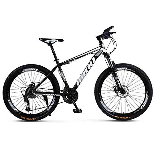 クロスバイク マウンテンバイク MTB 自転車 大人男性MTBライトロードは女性の24インチホイール可変速ダブルディスクブレーキ用の自転車自転車マウンテンバイク (Color : Gray, Size : 30 Speed)
