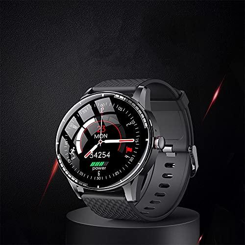 sulemaoyi0708 Reloj Inteligente TWS Enlace, Altavoz Bluetooth, reproducción de Auriculares, conteste el teléfono, Llamada de Manos Libres con Memoria (Color : B)